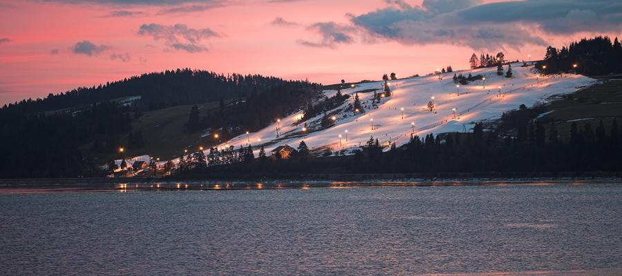 niedzica pieniny stok narciarski